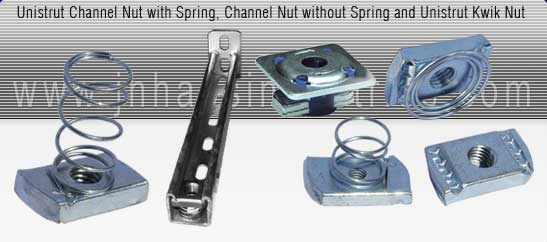 spring channel nuts manufacturer india - Strut Channel Nuts - Short Long Spring Channel Nut exporters seller uk, usa, dubai, australia