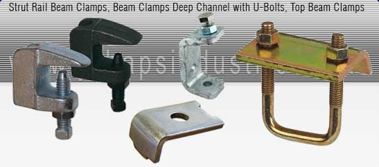 beam clamps manufacturer india - Toe Beam Clamp, Heavy Beam Clamp, Z type Beam Clamp, Window Brackets, unistrut Beam Clamp with U Bolt, Malleable Iron Beam Clamp, Purlin Clamp, Sheet Metal Beam Clamp exporters seller uk, usa, dubai, australia